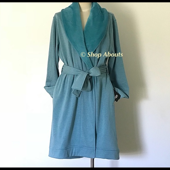 UGG Cozy Blanche Mini Stripe Wrap Robe XL 3d6d021c1
